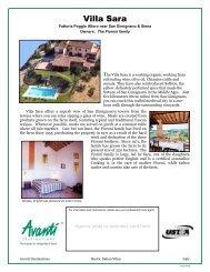 Villa Sara - Avanti Destinations