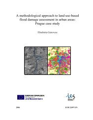 A methodological approach to land use-based ... - PreventionWeb