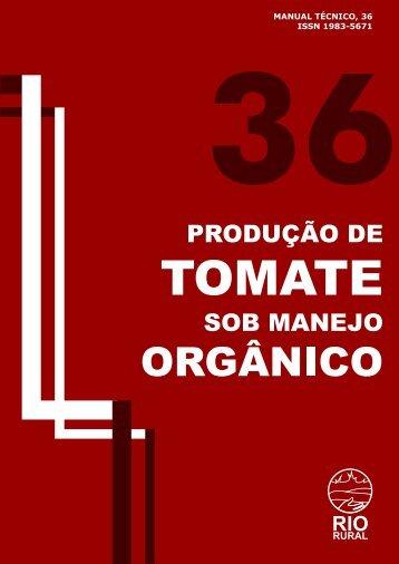 Tomate Orgânico - Pesagro-Rio