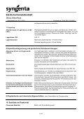 EG-Sicherheitsdatenblatt - Syngenta - Seite 3