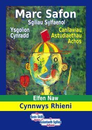 Cymraeg/ - [PDF - 1.02 Mb] - Arsyllfa Dysgu a Sgiliau Cymru