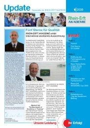 Update 01-2009 - Rhein-Erft-Akademie