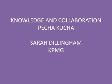 KPMG, Sarah Dillingham - UNWIRED