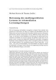 M. Kerres/T.Jechle - 2000 - Didaktik der Informatik
