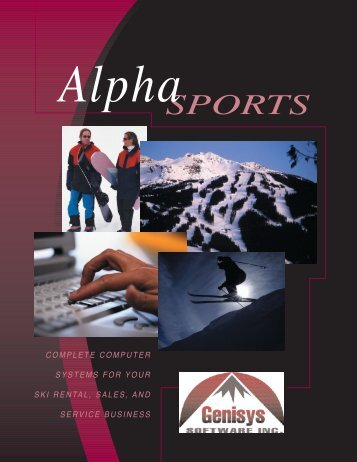 • alpha sports-4c - Genisys Software