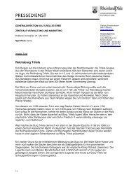 Image-Text: Reichsburg Trifels - Generaldirektion Kulturelles Erbe ...