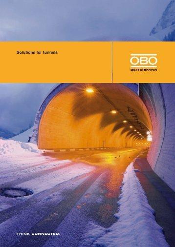 Solutions for tunnels - OBO Bettermann