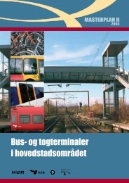 Bus- og togterminaler i hovedstadsområdet - masterplan II - Movia