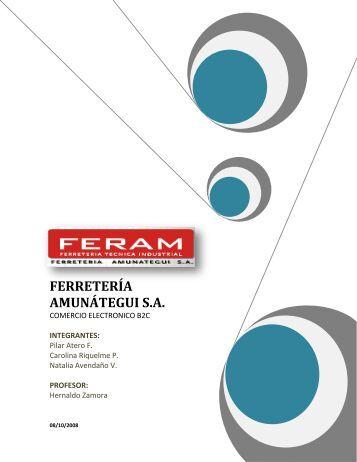 FERRETERÍA AMUNÁTEGUI S.A. - Tecnologías y Empresas