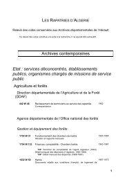 services déconcentrés, établissements publics ... - pierresvives