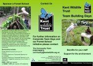 Corporate Team Building Days - Email - Kent Wildlife Trust