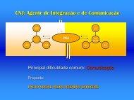 CNJ: Agente de Integração e de Comunicação - STF
