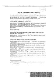 NORME TECNICHE DI RIFERIMENTO - Federcasa