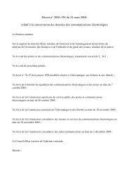 Décret n° 2006358 du 24 mars 2006 relatif à la ... - Globenet