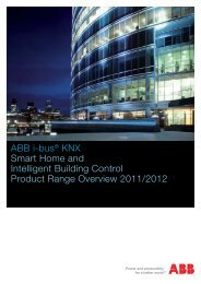 ABB i-bus® KNX Smart Home and Intelligent Building Control ...
