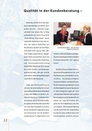 22 Qualität in der Kundenberatung – - Sparkasse Neunkirchen