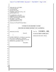 class action - Consumer Advertising Law Blog