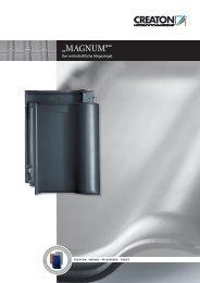 """""""MAGNUM®"""" - Creaton AG"""