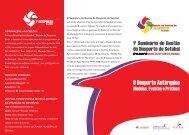 O Seminário de Gestão do Desporto de Setúbal, - Instituto do ...