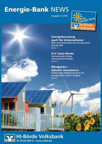 Magazin - Volksbank Hildesheimer Börde eG