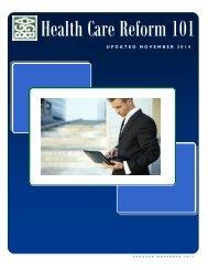 Health Care Reform 101 - Black Gould & Associates