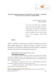 Incursão pelo ensino fundamental: da teoria à ... - Revista Prometeu