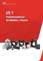 Transformadores de medida y shunts - Circutor