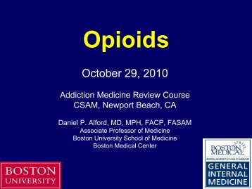 Opioids