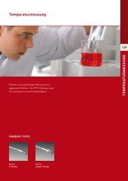 Temperaturmessung - Laboratoriumglas