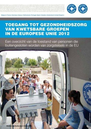 Nederlandse versie hier downloaden - Dokters van de Wereld