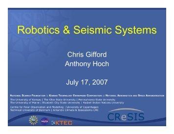 Robotics & Seismic Systems