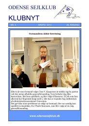 Formandens klumme - Odense Sejlklub