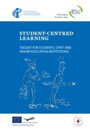 Toolkit for students, staff and higher education institutions