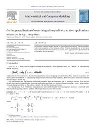 On the generalization of some integral inequalities and their ...