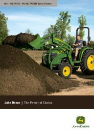 John Deere | The Power of Choice.