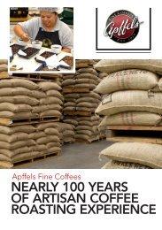 nearly 100 years of artisan coffee roasting experience - Business ...