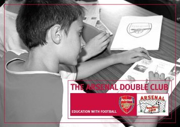 THE ARSENAL DOUBLE CLUB