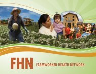 brochure - National Center for Farmworker Health