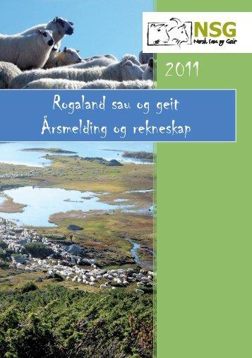 2011 - Norsk Sau og Geit