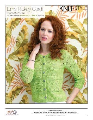 Instructions - Knit 'N Style Magazine