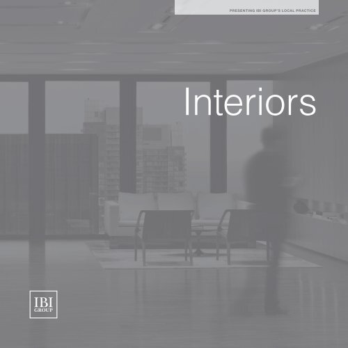 Interiors - IBI Group