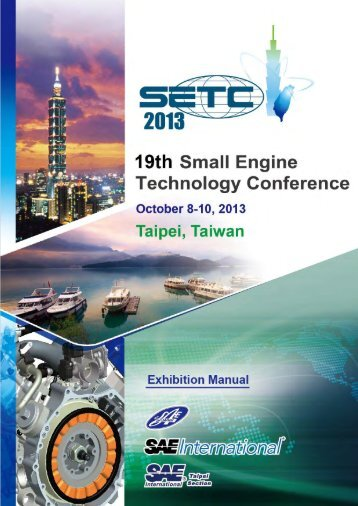 Exhibition Manual - Small Engine Technology Conference SETC