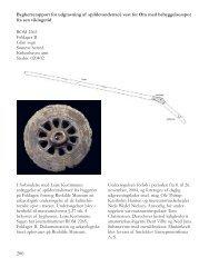 Bygherrerapport for udgravning af ... - Roskilde Museum