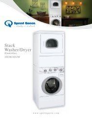 Stack Washer/Dryer - US Appliance