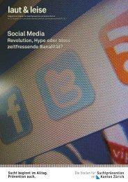 Social Media - Suchtprävention im Kanton Zürich