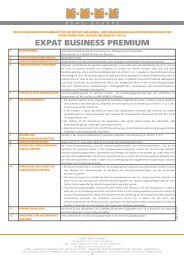 EXPAT BUSINESS PREMIUM