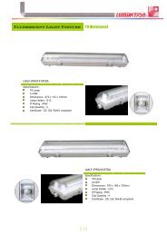 Fluorescent Light Fixture T8 Waterproof 【7】