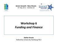 Workshop 6 Funding and Finance - MP4-Interreg