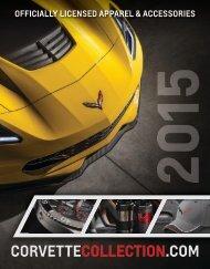 2015 Catalog Corvette Collection
