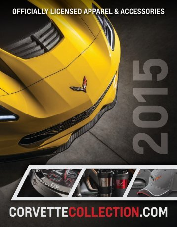 2015 Catalog Corvette Collection